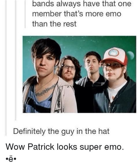 Emo Band Memes - funny emo band memes of 2017 on sizzle fobs