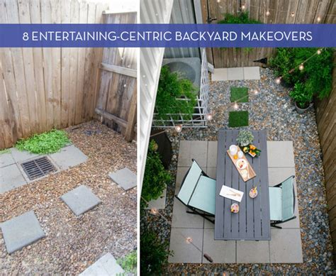 Free Backyard Makeover by 8 Amazing Backyard Makeovers That Are For