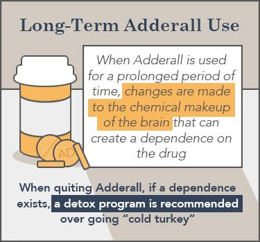 Term Medication Detox by How To Detox Taper Or Wean Adderall