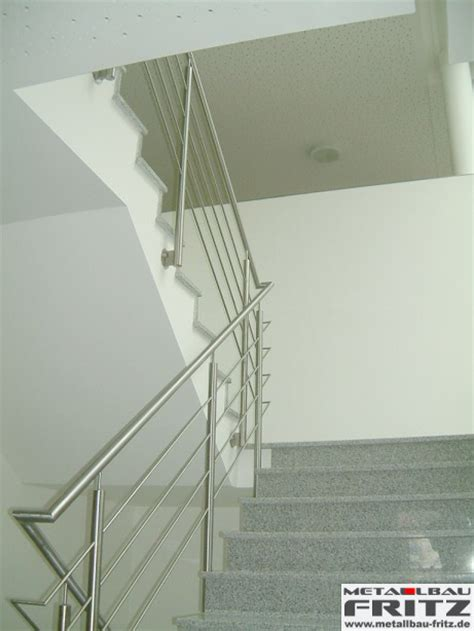 edelstahl treppengeländer innen edelstahl treppengel 228 nder innen 04 02 metallbau fritz