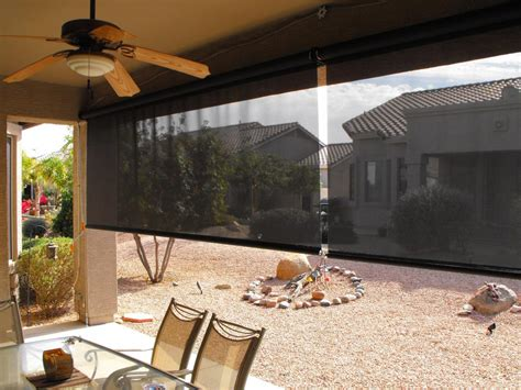 Shades: Excellent outdoor roll up solar shades Outdoor