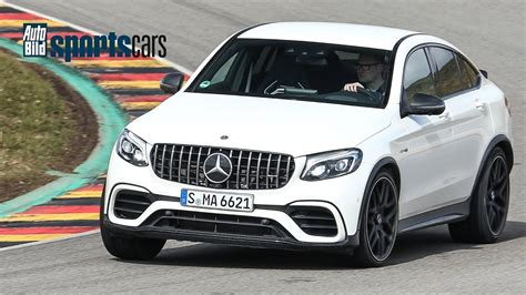 Auto Bild Sportscars Mercedes Amg by Schnellstes Suv Am Sachsenring Mercedes Amg Glc 63 S