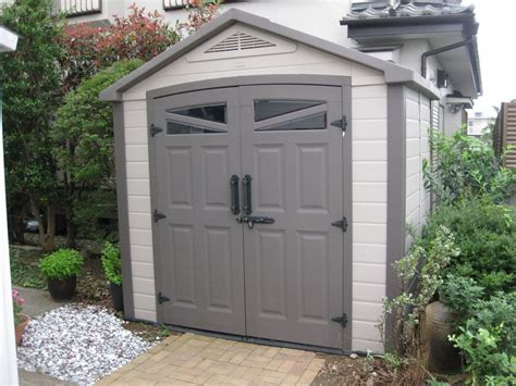 Costco Garden Shed by Sushi Finishing Up Work Projects