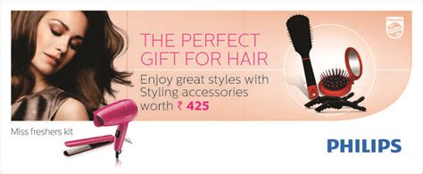 Philips Hair Dryer Groupon philips hp 8643 combo pack with free hair styling kit