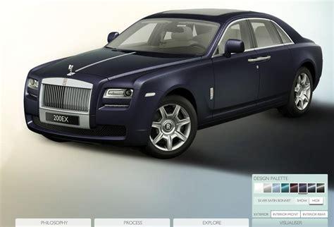 Rolls Royce Configurator by Rolls Royce Ghost Configurator Now
