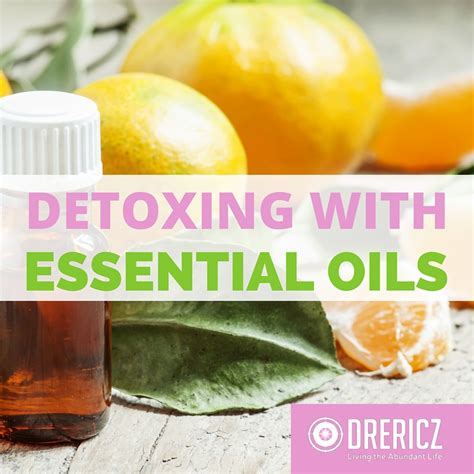 Essential Oils For Detoxing The by How To Detox With Essential Oils Drericz