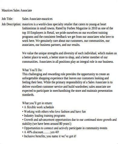 sle retail sales associate description 6