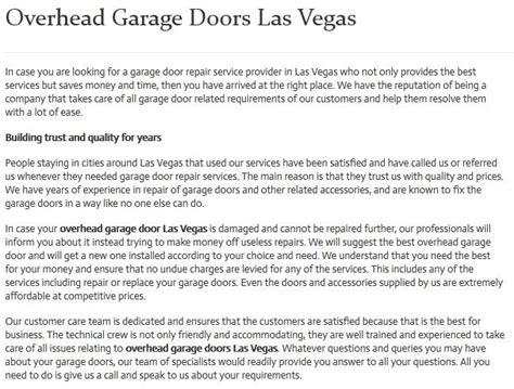 Garage Door Installation Las Vegas Garage Door Repair Installation In Las Vegas Nv Ohd Garage Doors Las Vegas