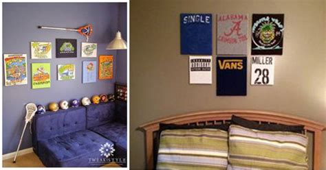 Diy Boys Bedroom Ideas Room Diy Wall Decor Interior Design