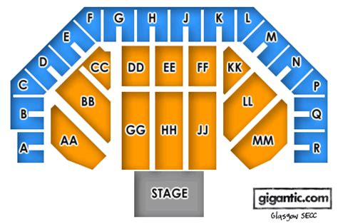 secc floor plan secc seating plan