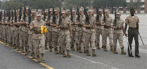 dvids images photo gallery marine recruits complete initial drill evaluation  parris