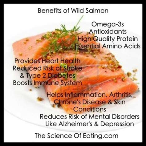 Health Benefits Of Fish by Salmon Benefits Food For Your Health