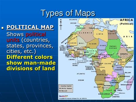 kinds of maps types of maps