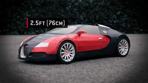 Bugatti Veyron Papercraft - quot bugatti veyron quot paper supercraft