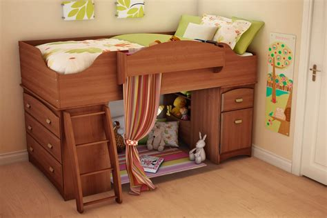 wooden bunk beds with storage drawers wooden global