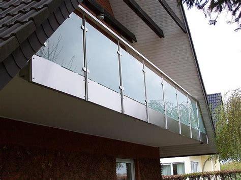 balkon edelstahlgeländer balkon edelstahl glas edelstahlgel 228 nder leistungen