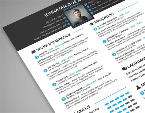 Cover Letter Template Psd Creative Resume Cover Letter Portfolio 3 In 1 Psd Template