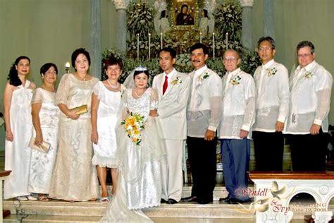 Garden Wedding Attire For Principal Sponsors by 68 Wedding Sponsor Attire Ajalas Simple Tent