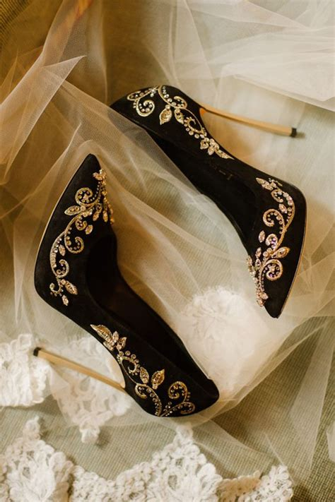 Black Wedding Shoes For by Bridal Black Shoes For And Wedding