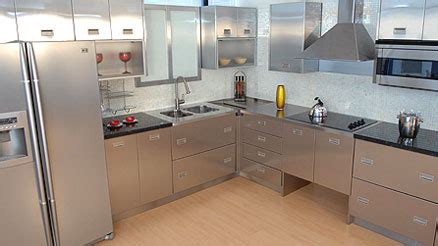 Des Kitchen Review by Metal Kitchen Cabinets Hac0