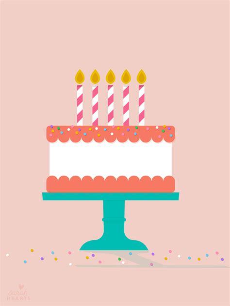 july  birthday cake calendar wallpaper sarah hearts