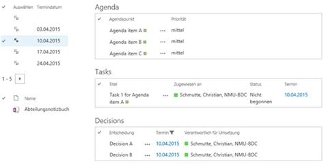 sharepoint 2013 meeting workspace template onenote as an alternative to the meeting workspace in
