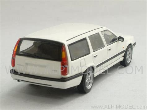 minichs volvo 850 1996 white 1 43 scale model