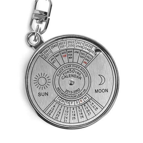 Calendar Key Ring 50 Year Calendar Keyring Thinkgeek