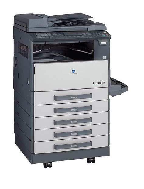 Mesin Fotocopy Warna Konica Minolta jual konica minolta bizhub 163 harga alat kantor dan peralatan kantor lainnya