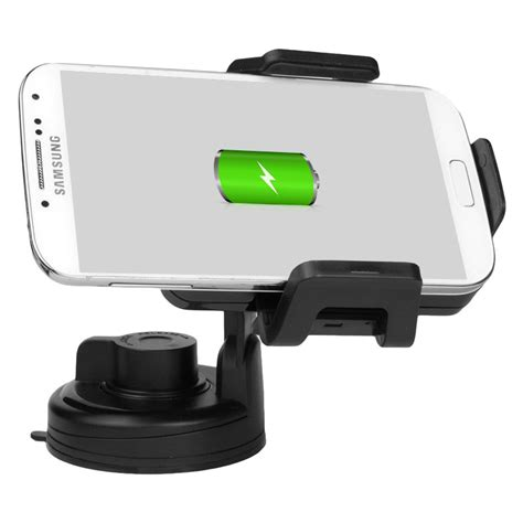 car wireless qi wireless charging car mount holder 5v 1 5a