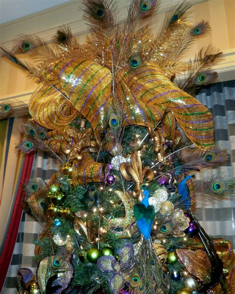 mardi gras themed christmas tree decorations my