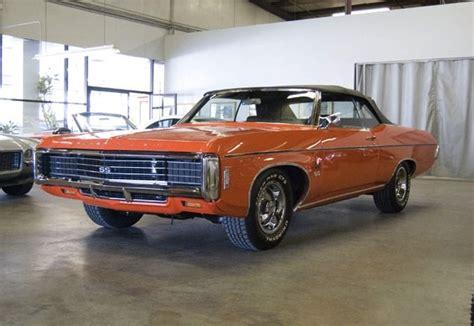 1969 chevrolet impala ss 427 bring a trailer