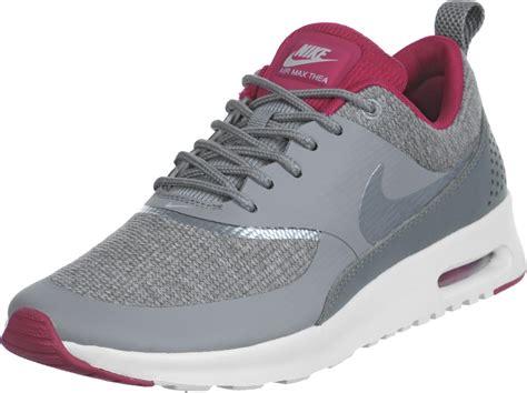 Nike Air Max Thea Grey nike air max thea premium w shoes grey pink