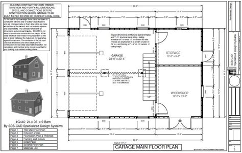 2 story barn plans 24 x 36 x 8 2 story barn workshop pole barn plans