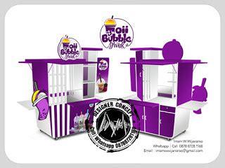 desain gerobak bubble desain logo logo kuliner desain gerobak jasa desain