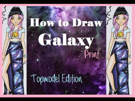 Muster Malen Topmodel Malbuch Galaxy Muster Malen Copic Foxy Draws