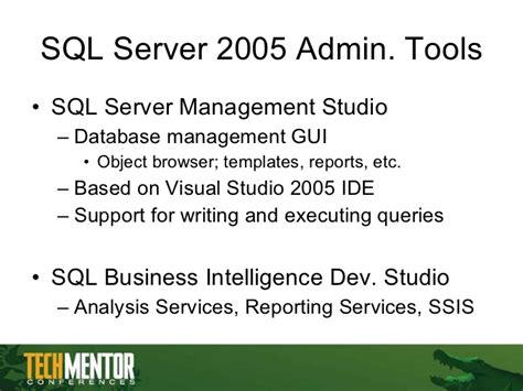 business intelligence templates for visual studio 2005 sql server basics