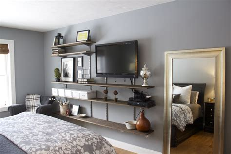 interior furniture bedroom shelves design ideas tv wall