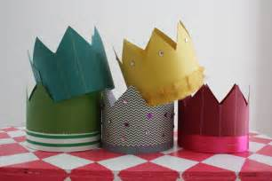 How To Make A Crown With Paper - paper crown princess