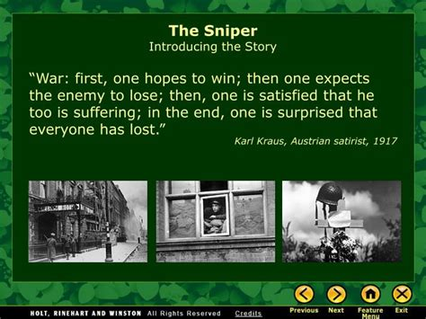 themes the sniper story ppt the sniper by liam o flaherty powerpoint