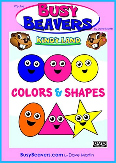 busy beavers kindyland presents colors and shapes