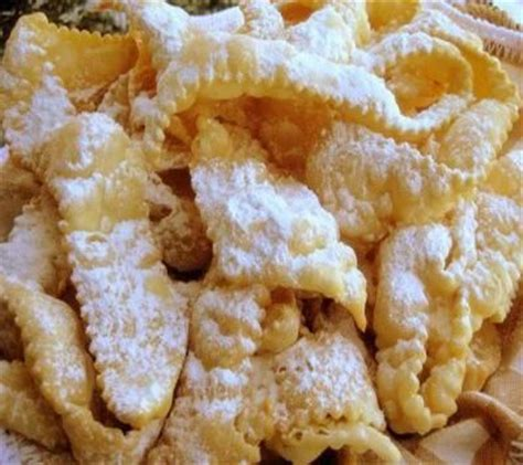 new year ribbon biscuit recipe sweet bows crostoli recipe vegetables on sunday and