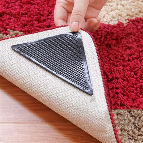 Rug Slips On Carpet by Aliexpress Buy 8 Pcs Non Slip Rug Grips Pu Mats