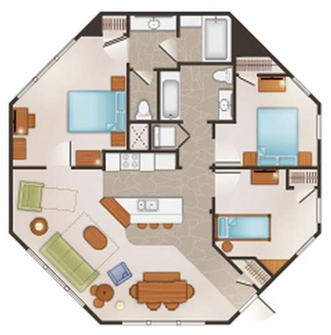 saratoga springs treehouse villa floor plan dvc rental saratoga springs resort spa