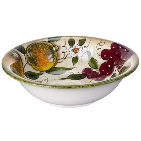 Cucina Italiana Ceramic Deep Pasta Bowl #0051 577