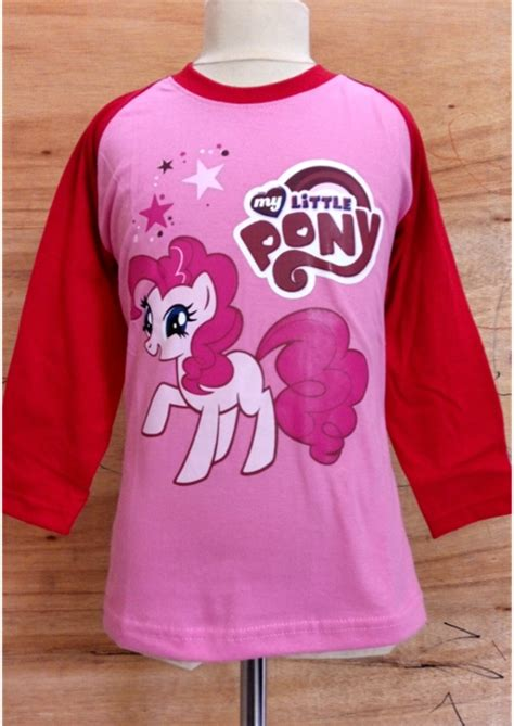 Kaos Karakter Anak Pony Abu grosir kaos anak toko baju anak baju anak perempuan kaos anak muslim kualitas premium