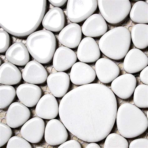 white pebble tiles bathroom wholesale porcelain bathroom wall interior decorative