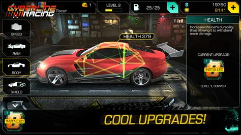 apk mod hack descargar cyberline racing v 1 0 11131 android apk hack mod