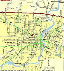 Fremont Ohio Map by Fremont