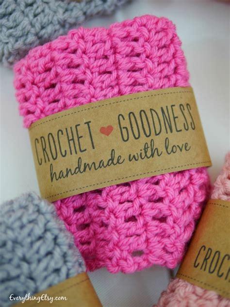 Labels For Handmade Crochet Items - handmade crochet gift labels free printables